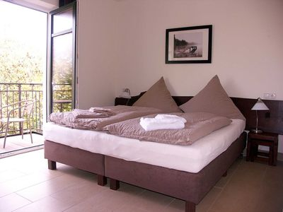 Photo for 8 double rooms with balcony - Usedom Bike-Hotel & Suites *** 80 m to the Baltic Sea beach