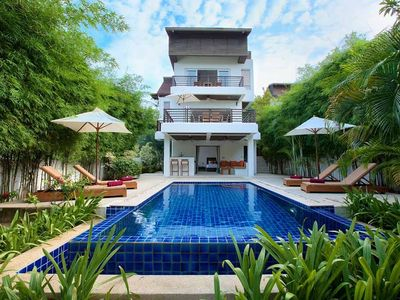 Photo for Minutes to Cheong Mon Beach Luxury Pool Villa