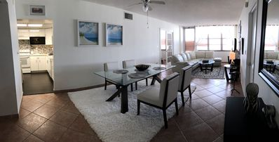 Photo for Beautiful and spacious 2 bed/2 bath on high floor on the ocean