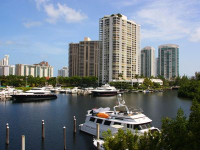 Photo for Yacht Club at Aventura. Amazing Water View, Newly renovated