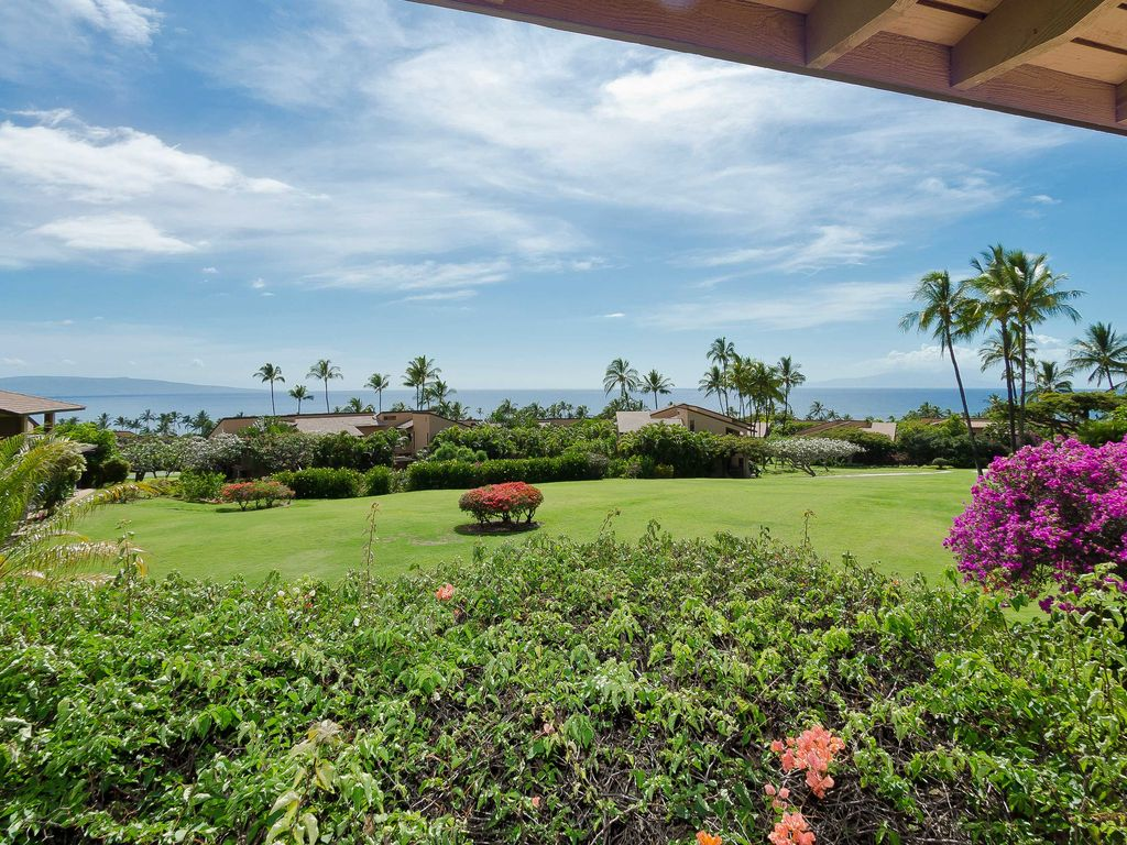 Ekahi 38d Gorgeous Ocean View Condo On Green Belt Wailea