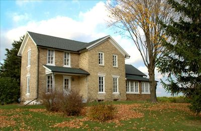 Aztalan Fields Guest House, updated farmhouse, has the modern comforts of home.