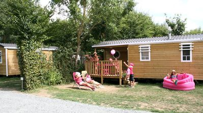 Photo for Camping l'Ile Cariot *** - 4-room mobile home 6 people