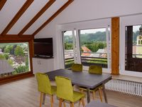 Great apartments in a superb location - lovely views.