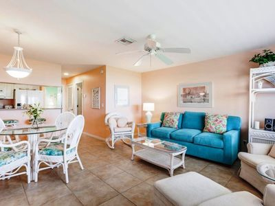 Photo for Sanibel Arms, G6 - Direct Beach Front, 1 Bed/1 Bath