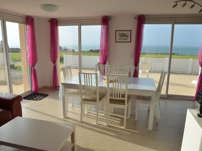 Photo for Villa with stunning sea views and 200m from the beach in Le Conquet Porsliogan