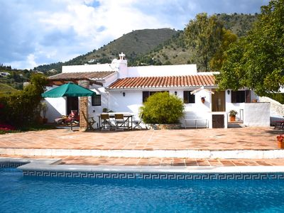 Photo for Characterful, Stylish 'Finca' with Heated Pool & Mountain Views (Beach 25 mins)
