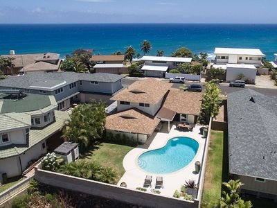 Photo for Stunning Diamond Head Home With AC/Pool Near White Sand Beach