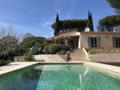 Photo for Villa Frida near Gassin with large private heated pool, 4 bedrooms, large garden
