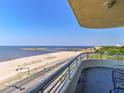 Photo for Luxurious Biloxi Beach Condo w/ Amenities & Views!