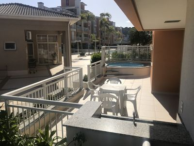 Photo for APTO GROUND FLOOR C / JACUZZI PRIVATIVE AND POOL 70mts BEACH! perfect for families!