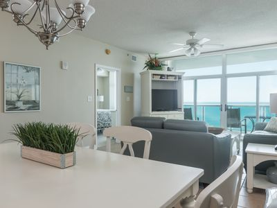 Photo for Laguna Keyes - PH 7 Gorgeous 3 bedroom condo with a full ocean view!