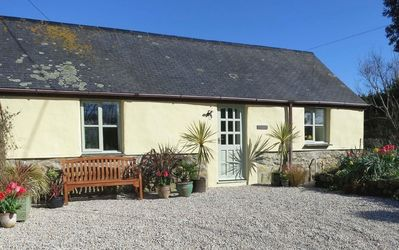 "Photo for The Little Barn is a Beautifully Converted Cornish Granite ""cob"" Barn"