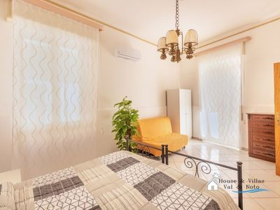 Photo for Just 600 meters from the sea, historic center, air conditioning, terrace