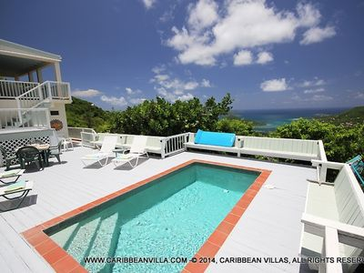 Photo for 2BR Villa Vacation Rental in Coral Bay, St John