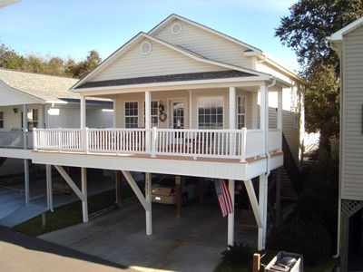 Photo for 1 1/2  STORY 3 BR-- 2 1/2 BATH- SLEEPS 8   4 MIN TO BEACH  SITE 1237