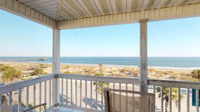 Pelican Point Condos - Unit 5 - Panoramic Oceanfront Vistas - Small Dog Friendly