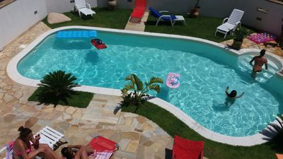 Photo for Beautiful villa with swimming pool 900 meters from the beach Vetrana