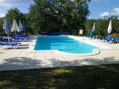 Photo for Comfortable house near Sarlat with heated pool in the heart of a golf