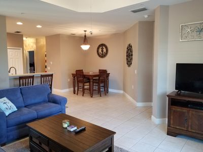 Photo for 3 miles to the beach, corner unit, walk to pool & clubhouse