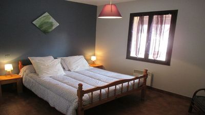 Photo for In Balazuc (classified village): cottage 4 p + pool and river!