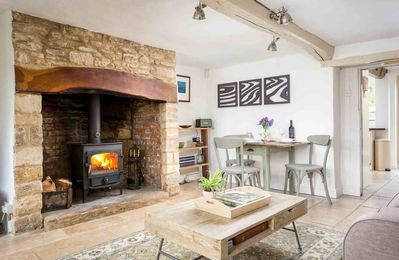 Photo for Crafty Fox Cottage is a stylish, Cotswold stone cottage, located on a country lane in a hamlet