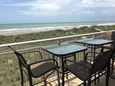 Photo for 3BR/2BA Direct Ocean Front  - Lots of Updates!