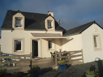 Photo for The Seagull, Breton house very warm with sea views