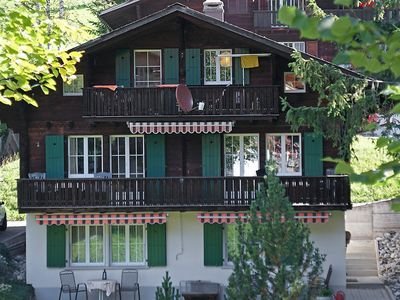 Photo for Apartment 19 m from the center of Grindelwald with Parking, Internet, Balcony (38457)