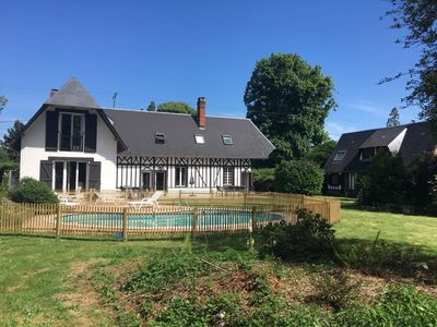 Photo for House in Normandy near Brionne, Bec Hellouin. 1h30 from Paris