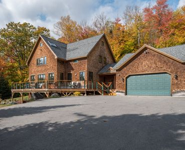 Photo for Secluded and Elegant - Mountain Retreat with peaceful Sunday River Road Setting