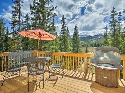 Photo for 'The Moose Hoose' Fairplay Cabin w/Deck+Mtn Views!