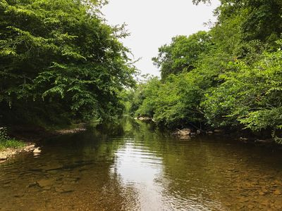Photo for Quiet & Clean on 80 Acres with a year around clear wading creek!  ATV Friendly