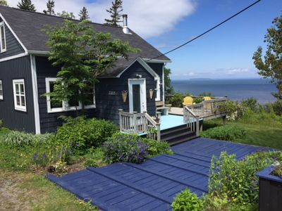 our cliffhouse on the Bay of Fundy