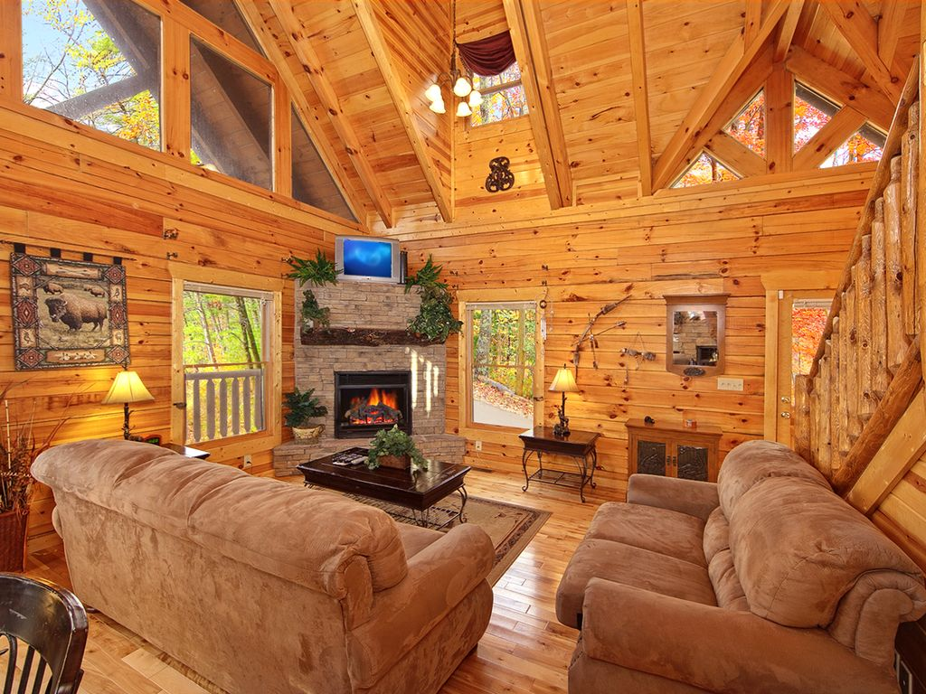 Private Indoor Pool Cabin Sleeps 8 Gatlinburg Tennessee Rentals And Resorts