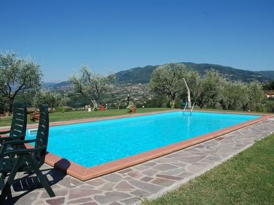 Photo for 2 Bedroom Villetta With Large Garden And Private Pool