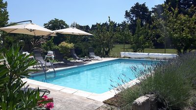 Photo for In Provence, country house for 6 with pool.