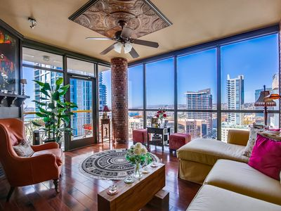 Photo for LUXURY 18TH FLOOR CONDO IN LITTLE ITALY SPECTACULAR OCEAN, HARBOR & CITY VIEWS