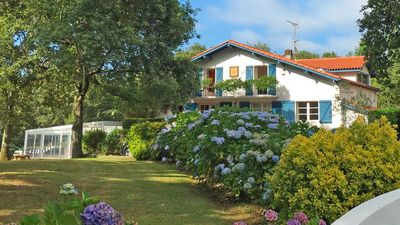 Photo for BASQUE VILLA WITH INDOOR SWIMMING POOL LESS THAN 10 MINUTES FROM THE BEACHES