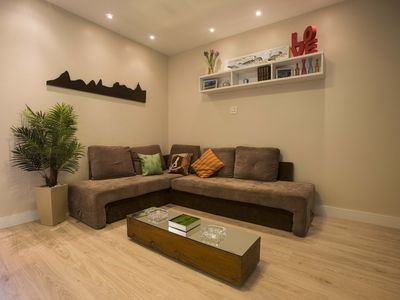 Photo for Ipanema, spacious and close to the beach