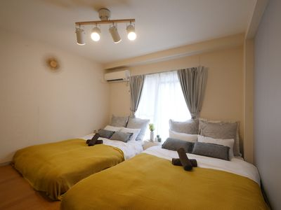 Photo for Q3 Family Room max of 6 people Comfortable and 10 mins walking distance from Sta.
