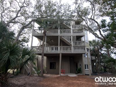 Photo for Paradise Found -Private Beach Access, Expansive Water Views in Edisto Luxury