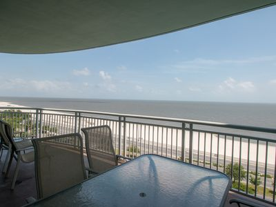 Photo for 8th Floor Legacy I Condo w/ Private Balcony, Ocean Views & Resort Amenities