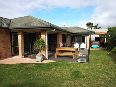 Photo for Papamoa Beach Family Home available over Christmas and New Year