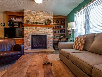 Photo for Nice Ski-in/Walk-out condo, outdoor hot tub, free wifi, & parking.
