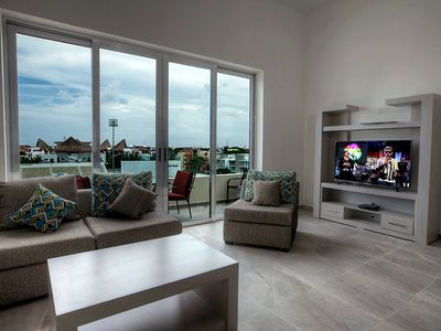 Photo for Spacious 2 BR condo in heart of Playa del Carmen magical town by Happy Address