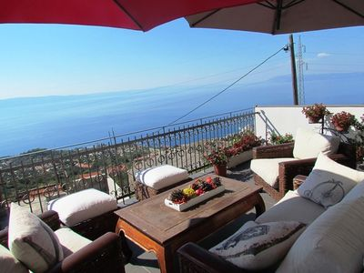 Photo for Holiday apartment with sea view and balcony