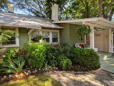 Photo for Walk to Downtown from Charming Cottage, in Historic Montford 30 Day Minimum Stay