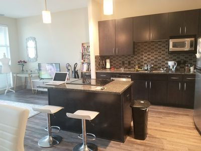 Photo for Luxury Apartment Walking Distance to AAC and 5 min from Downtown Dallas