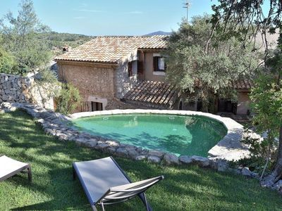 Photo for Caimari Villa, Sleeps 6 with Pool, Air Con and WiFi